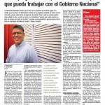 Entrevista Correo del Orinco