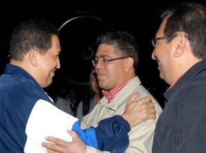 Regreso Presidente Chavez a Venezuela