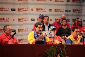 El presidente Maduro se reunió con el Gran Polo Patriótico
