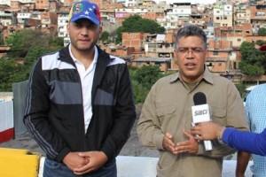 Elías Jaua inspeccionó rehabilitación vial en Petare
