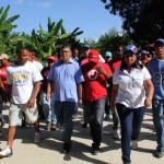 Más de 160 familias del sector Salgado del municipio Brión, han sido beneficiadas con la rehabilitación de 340 metros de la vialidad Río de Salgado