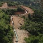 Tras visitar la planta de tratamiento La Pereza, ubicada en Mariche, los candidatos se trasladaron hasta La Guairita donde constataron los avances del sistema alimentador que superará los 10 kilómetros de longitud y que permitirá bombear 900 lts/seg a 410 metros de altura.