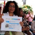 María Del Valle Pantoja, recibió un financiamiento  de 47 mil 409 bolívares