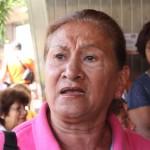 Lina Rivas, jubilada desde hace quince años.