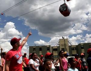 El Metrocable de Mariche es una de las grandes obras del Gobierno Bolivariano para el municipio Sucre