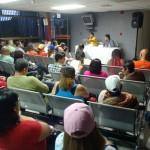 El candidato del GPP en Carrizal, Farith Fraija, organizó un encuentro de la comunidad deportiva con las autoridades
