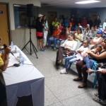 El viceministro José Alejandro Terán anunció la aprobación de 150 mil bolívares para recuperar cuatro canchas deportivas