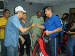 MinDeporte aprueba recursos para recuperar cuatro canchas deportivas en Carrizal
