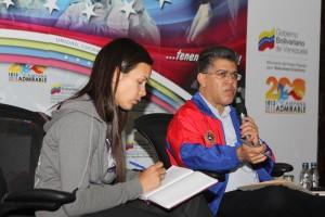 Corpomiranda y Ministerio del Deporte trabajan juntos para  fortalecimiento deportivo