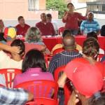Marleny Contreras en su condición de representante de la directiva regional de la tolda roja planteó Conciencia y compromiso para mejorar las condiciones de movilización y comunicación