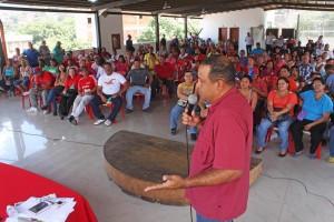 UBCh de Guarenas afinan detalles para estrategia electoral del 8D