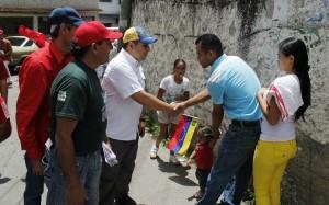 Vecinos de José Manuel Álvarez piden un verdadero cambio al candidato Farith Fraija