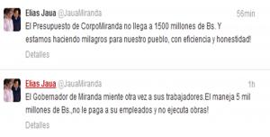 """Elías Jaua: """"El gobernador de Miranda miente otra vez a sus trabajadores"""""""