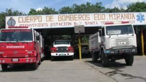 Funcionarios bomberiles de Miranda protestan ante incumplimiento de beneficios laborales
