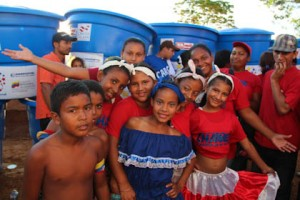 Fiesta del Agua llegó con beneficios y soluciones para las comunidades de Santa Lucía