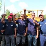 Jaua felicitó a los trabajadores por culminar la obra en tiempo récord