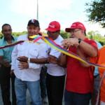 Voceros comunitarios, motorizados y transportistas agradecieron la rehabilitación