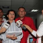 Al térmimo de la sesión del Clebm la diputada Marisela Mendoza reiteró la aprobación de los recursos y el compromiso de seguir apoyando al los gremios
