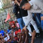 Expresó que esta movilización es una demostración contundente de la lealtad de un pueblo al proyecto chavista y bolivariano