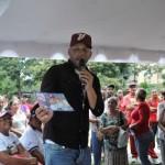 """Antonio Álvarez """"El Potro"""" candidato a la alcaldía del municipio Sucre por el Partido Socialista Unido de Venezuela (PSUV)"""
