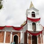 Presentaron las renovadas fachadas de la sede del Cuerpo de Bomberos y de la Iglesia El Carmen