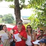 Continúa el abanderamiento de las UBCH en Araira, estado Miranda