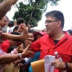 Actividad de movilización electoral de las Unidades de Batalla Bolívar Chávez, en Petare municipio Sucre del estado Miranda