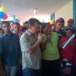 Elías Jaua invitó a la Comunidad a cuidar y mantener los espacios para el bienestar de todos