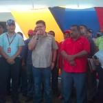 Jaua estimó la fortuna de tener un Gobierno Bolivariano que vela por el desarrollo de todas las entidades municipales del pais