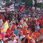El huracán revolucionario se movilizó en Guarenas