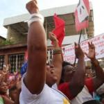 Un pueblo libre y libertario que apoya a Thais Oquendo