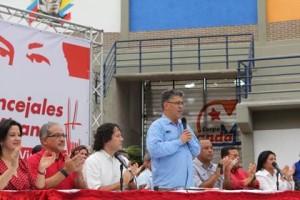 Alcaldes y Concejales Bolivarianos dispuestos al trabajo y la discusión política